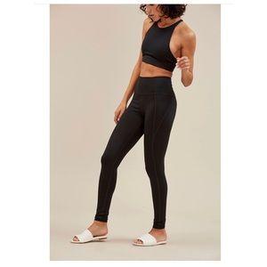 Girlfriend Collective Black High Waist Leggings XS